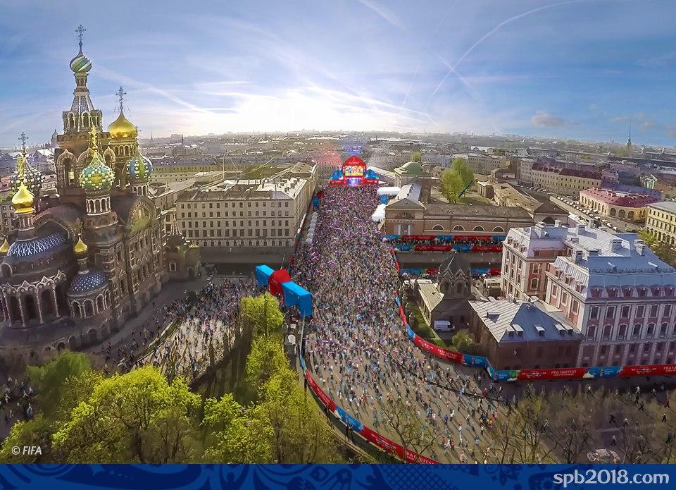 Фестиваль болельщиков FIFA 2018™ в Санкт-Петербурге